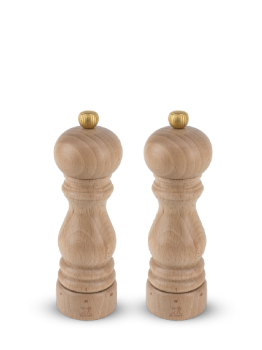 Peugeot Paris U-Select Beech 18cm Salt & Pepper Mill Set